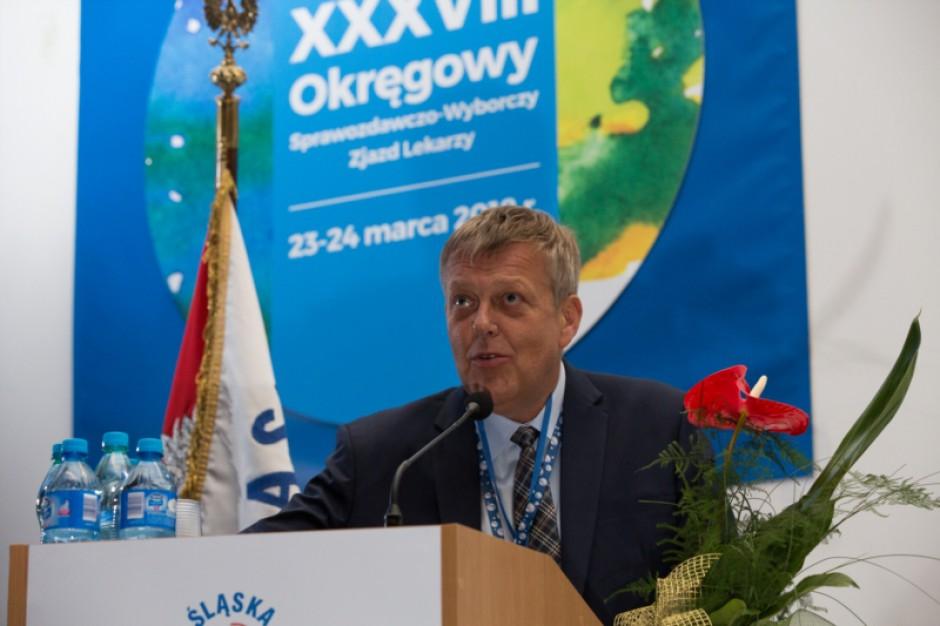 Śląsk: dr Tadeusz Urban prezesem Okręgowej Rady Lekarskiej w Katowicach