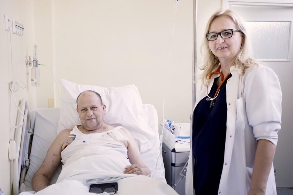 Gdańsk: lekarze z UCK przeszczepili pacjentowi jednocześnie serce i nerkę