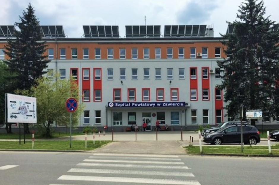Przesiewowe testy pracowników szpitala w Zawierciu – tylko 1 zakażony