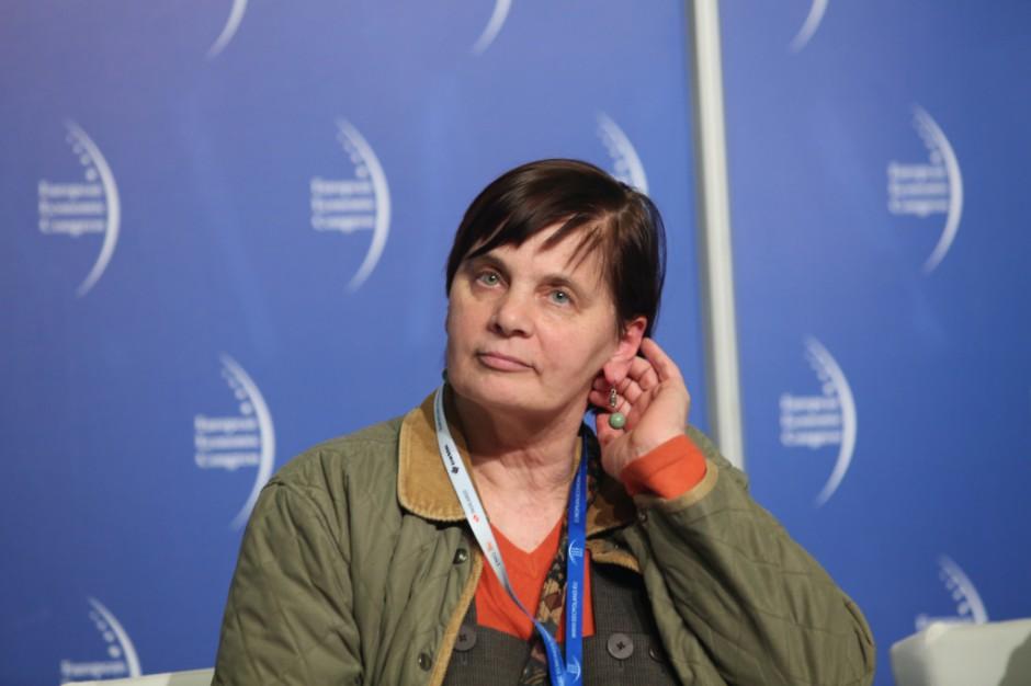 Janina Ochojska: choruję na raka piersi. Nie rezygnuję z kandydowania w wyborach do PE