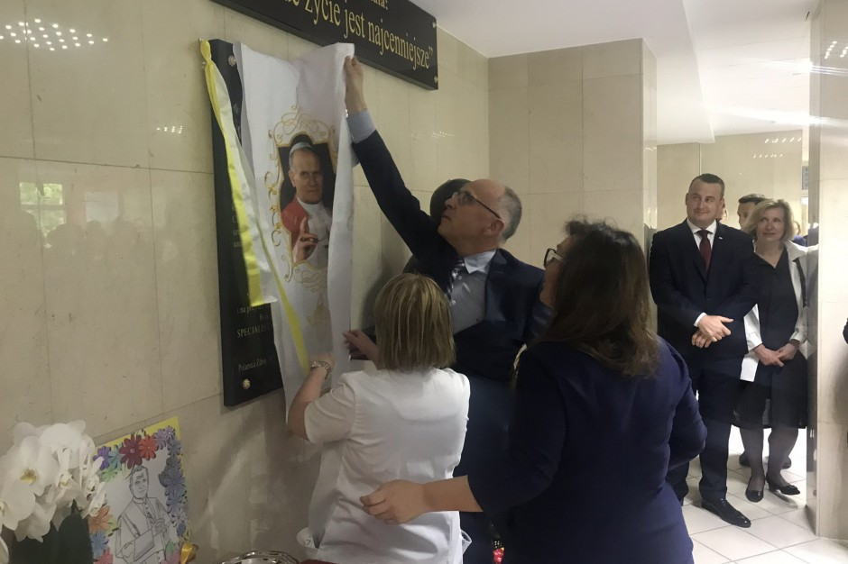 Szpital w Polanicy otrzymałimię Jana Pawła II