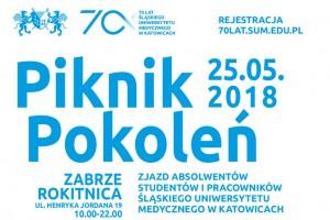 Piknik Pokoleń na 70. urodziny Śląskiego Uniwersytetu Medycznego w Katowicach