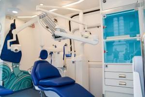 Śląskie: dotychczas w dentobusie przebadano 233 dzieci