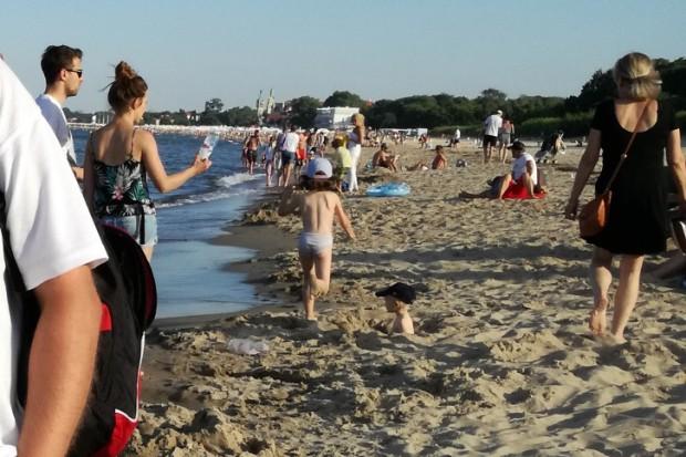 Przekroczenie norm jakości wody przy plaży w Sopocie