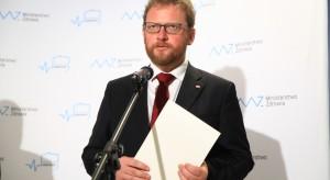 Łukasz Szumowski z polską delegacją na posiedzeniu Rady EPSCO