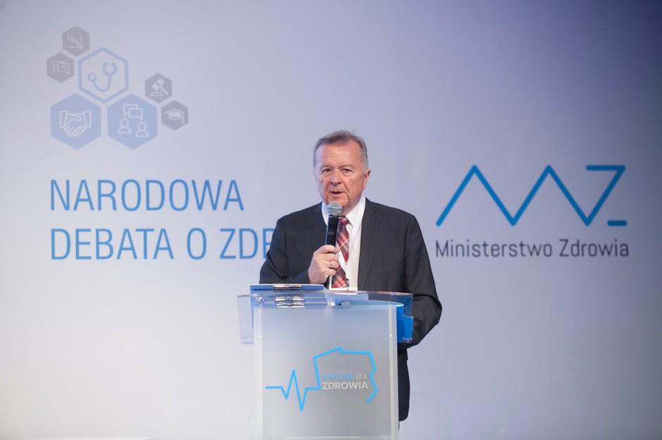 Prof. Górski: MZ niczego nie narzuca w debacie ''Wspólnie dla zdrowia'', jest szansa na...