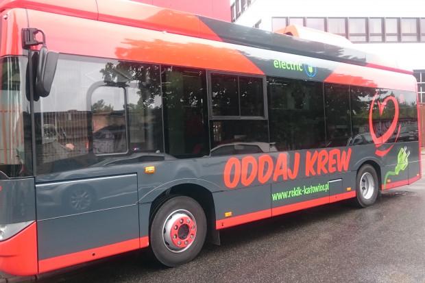 Solaris pochwalił się elektrycznym autobusem do poboru krwi