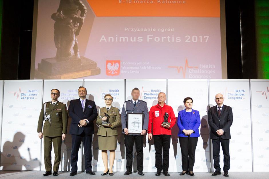 Wicepremier Szydło wręczyła Nagrody Animus Fortis
