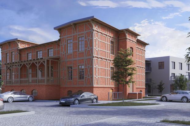 Na sprzedaż - zespół budynków w budowie z przeznaczeniem na centrum usług hotelowych, medycznych i restauracyjnych, zlokalizowanych w centrum Torunia