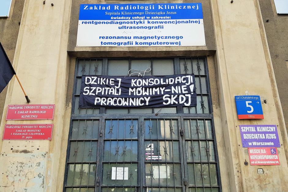 Warszawa: związki zawodowe trzech szpitali będą pikietować przed rektoratem WUM