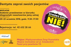 Poznań: bezpłatne badania z okazji Europejskiego Tygodnia Profilaktyki Nowotworów Głowy i Szyi