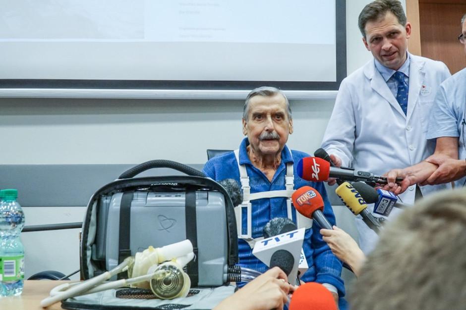 Pierwszy pacjent w Polsce ze sztucznym sercem: poddając się operacji otrzymałem szansę