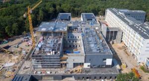 Toruń: szpital na Bielanach w połowie gotowy, najbardziej zaawansowana...