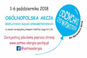 Badania spirometryczne w 241 ośrodkach w kraju