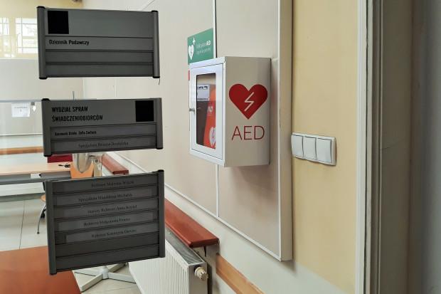 Małopolskie: oddział NFZ kupił 6 defibrylatorów AED do swoich budynków