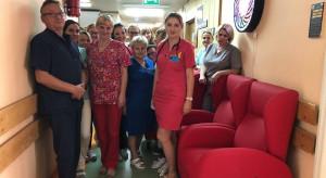 Opole: szpital kliniczny otrzymał od WOŚP rozkładane fotele dla rodziców małych pacjentów