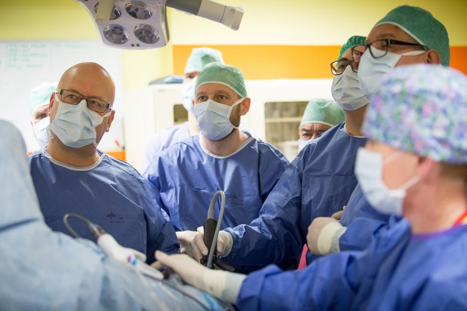 Lublin: nowe operacje minimalnie inwazyjne w Centrum Onkologii