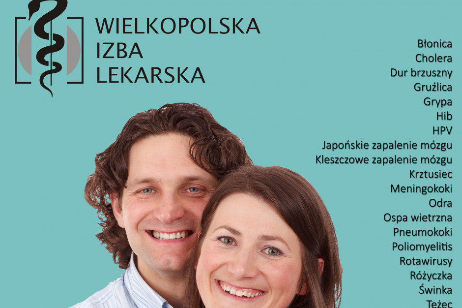 Izba lekarska w Poznaniu do lekarzy: dajcie przykład i też się zaszczepcie