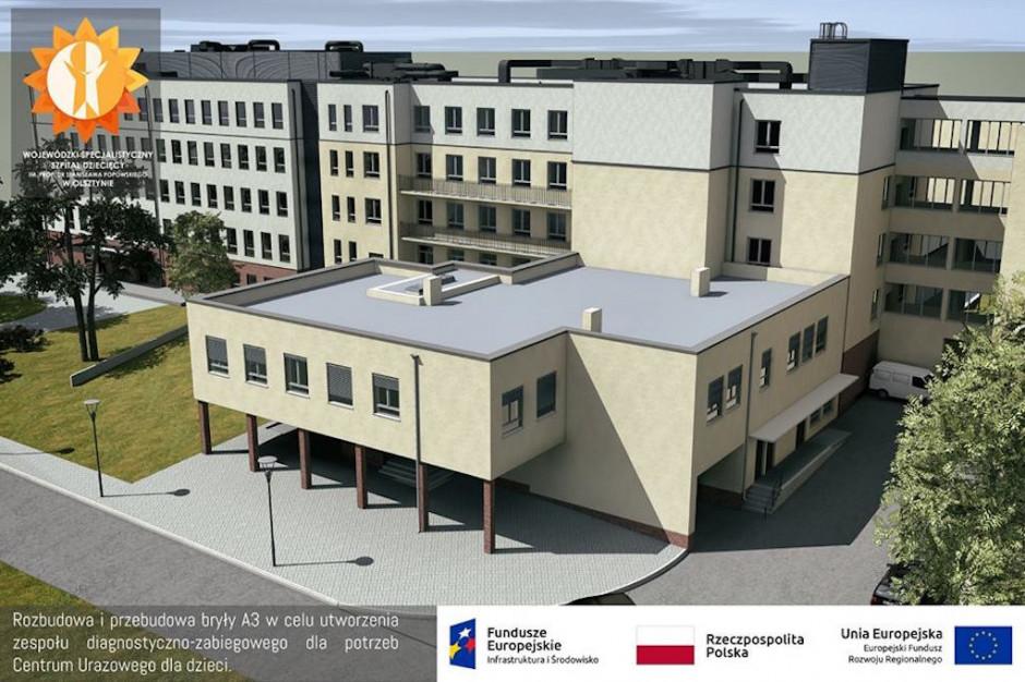 Olsztyn: powstaje Centrum Urazowe dla Dzieci