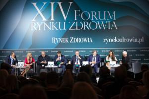 """XIV Forum Rynku Zdrowia: sesja """"Finansowanie świadczeń zdrowotnych w Polsce"""""""