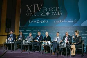 """XIV Forum Rynku Zdrowia: sesja """"Bezpieczeństwo pacjentów - aspekty medyczne, prawne i finansowe"""""""