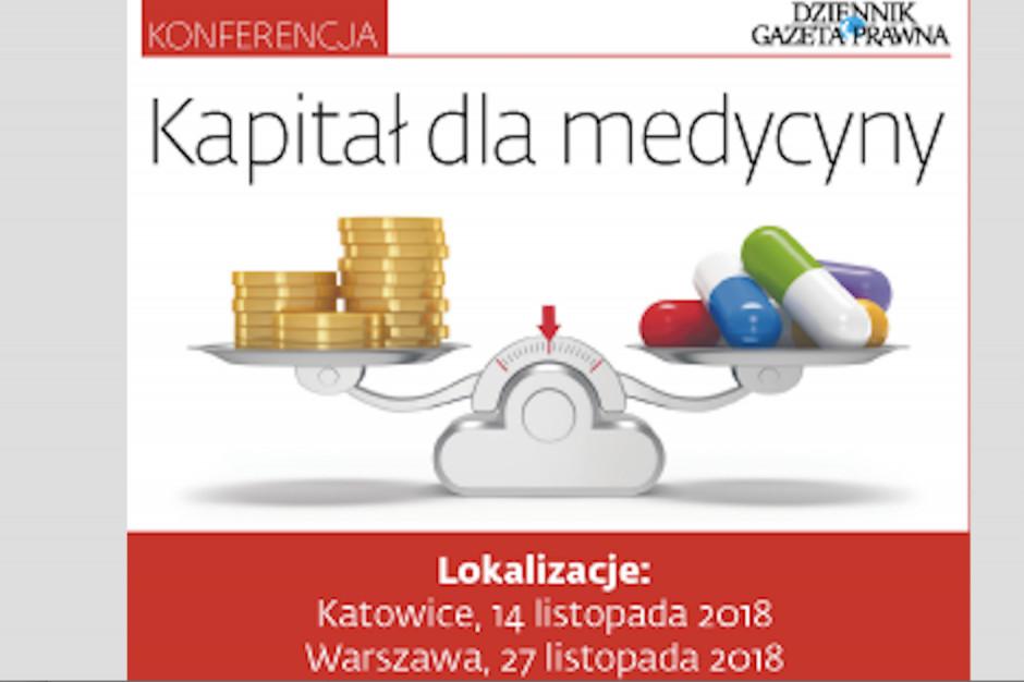 """Cykl konferencji """"Kapitał dla medycyny"""""""