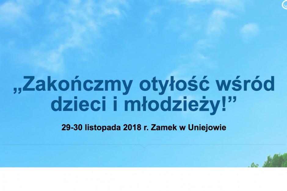 """Konferencja """"Zakończmy otyłość wśród dzieci i młodzieży!"""""""