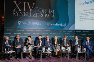 """XIV Forum Rynku Zdrowia: sesja """"E-zdrowie w Polsce - cz. I"""""""