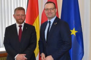 Ministrowie zdrowia Polski i Niemiec o współpracy naukowej i szczepieniach
