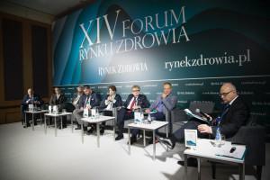 """XIV Forum Rynku Zdrowia: sesja """"Samorządowe programy polityki zdrowotnej - komplementarny element polityki zdrowotnej państwa"""""""