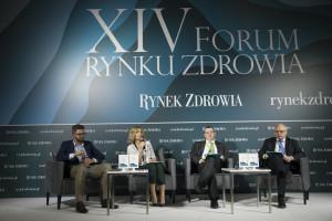 """XIV Forum Rynku Zdrowia: sesja """"RODO w ochronie zdrowia - wybrane pytania, wątpliwości, nieporozumienia"""""""