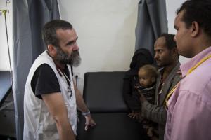 Polska Misja Medyczna i Lekarze Bez Granic pomagają dzieciom w Jemenie