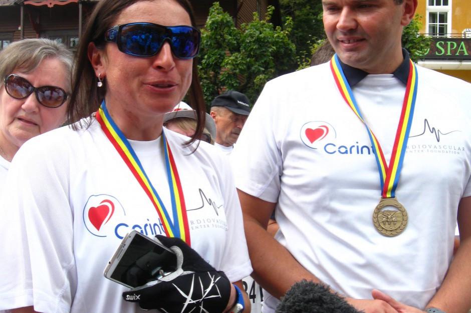 Justyna Kowalczyk nagrodzona przez polskich kardiologów