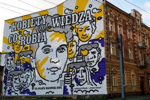 Katowice: odsłonięto mural upamiętniający lekarkę ratującą dzieci przed ołowicą
