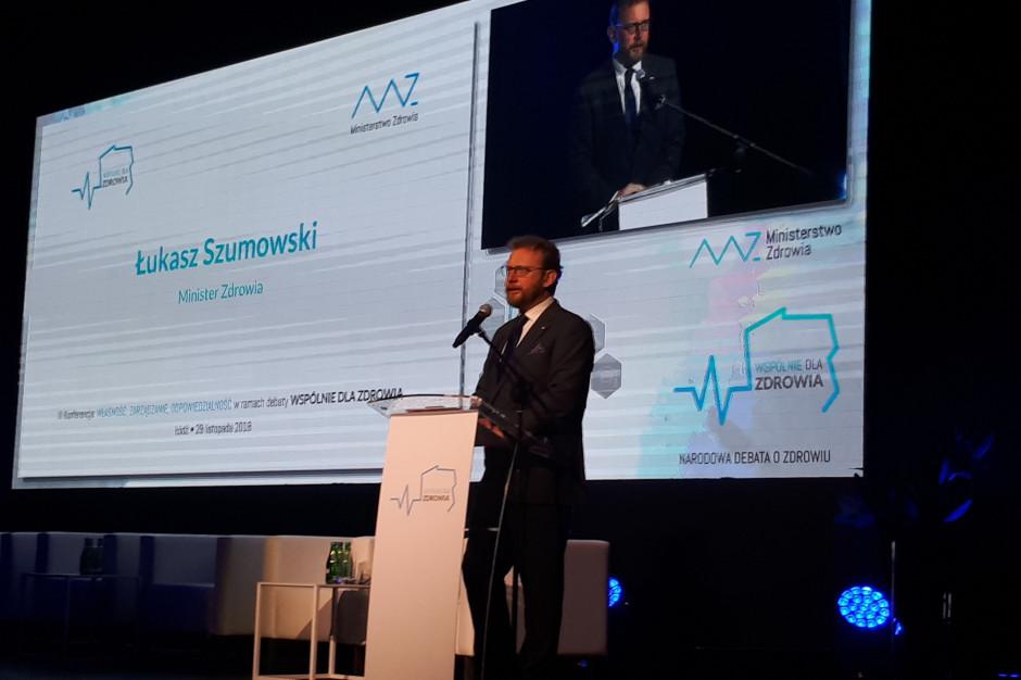 Szumowski: jeszcze w grudniu rząd zajmie się projektem o Agencji Badań Medycznych