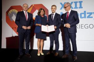 Dr hab. Marcin Grabowski został laureatem nagrody Prezesów PTK