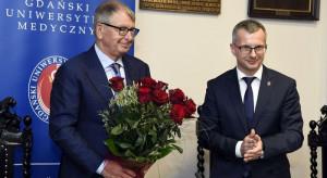 """Medal """"Zasłużonemu AMG"""" dla Jerzego Staraka"""