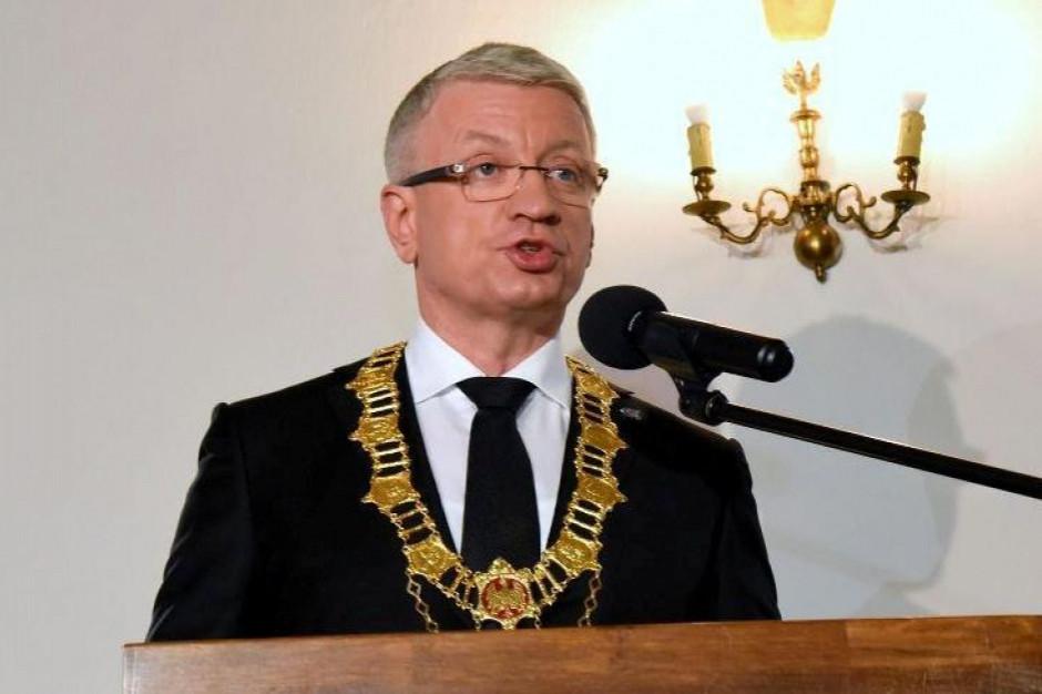 Trening bokserski z prezydentem Poznania na aukcji WOŚP