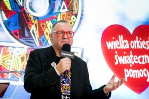 Jerzy Owsiak: podczas 28. finału WOŚP zebrano ponad 186 mln zł