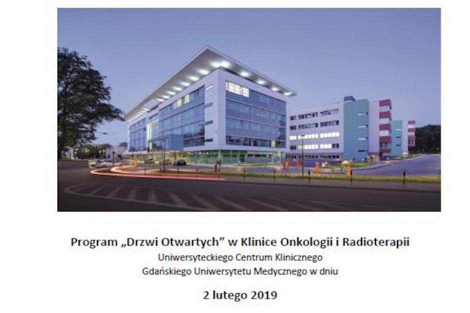 """Gdańsk: dzień """"otwartych drzwi"""" w Klinice Onkologii i Radioterapii GUMed"""