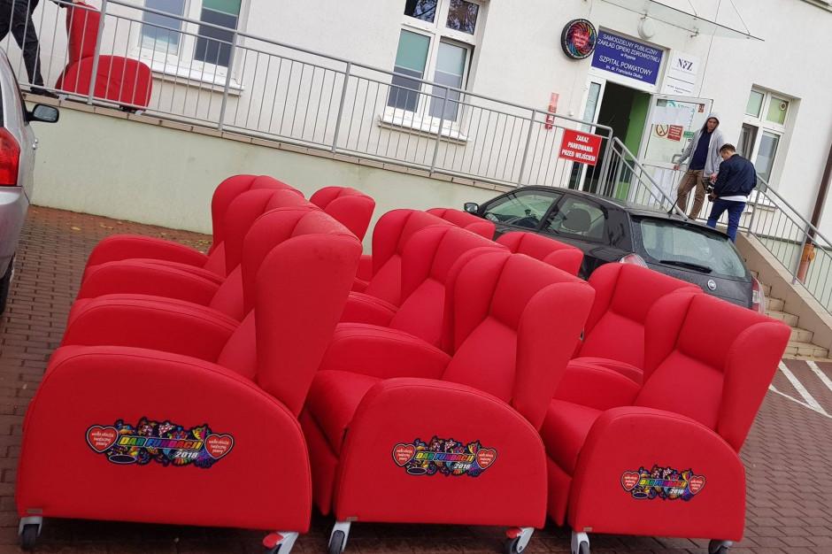 Szpital dziecięcy odpowiada ws. niewykorzystanych foteli od WOŚP: nie nadają się do…