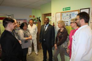 Jest porozumienie ze szpitalem w Kigali. Lekarze z Chorzowa będą szkolić kolegów w Rwandzie