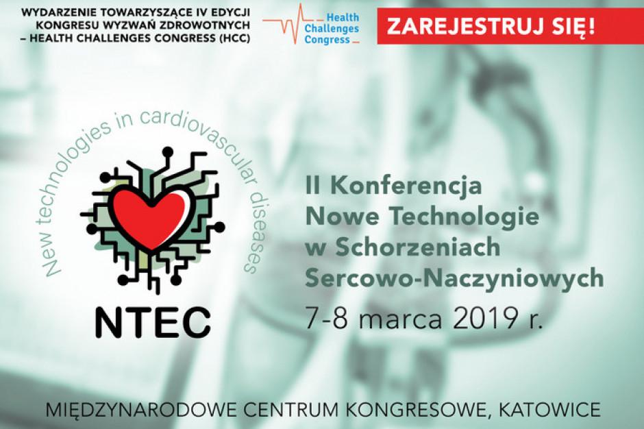 Katowice: II Konferencja Nowe Technologie w Schorzeniach Sercowo-Naczyniowych