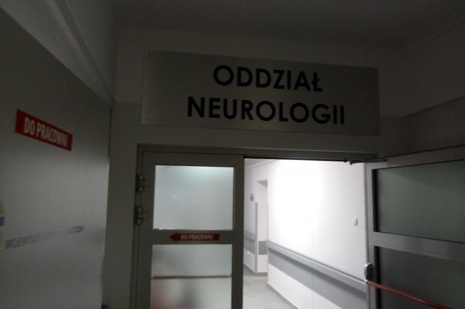 Ostrów Wielkopolski: oddział neurologiczny po modernizacji