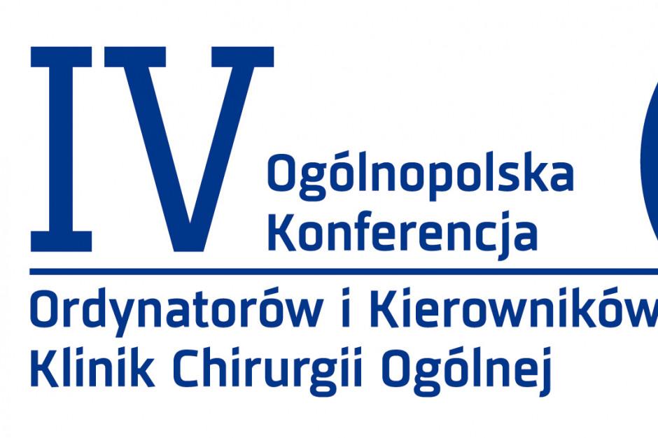 IV Konferencja Ordynatorów i Kierowników Klinik Chirurgii Ogólnej