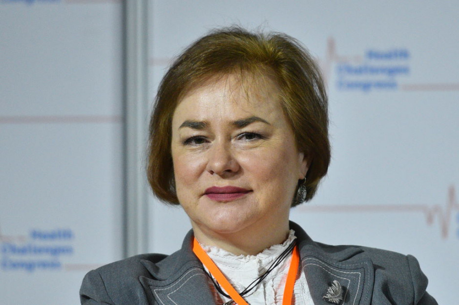 Posłanka Gądek na HCC: minister zdrowia powinien być w randze wicepremiera