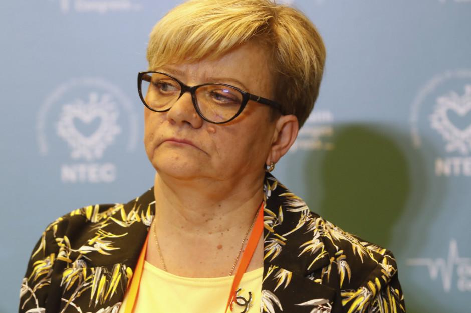 Przewodnicząca OZZPiP: porozumienie z pielęgniarkami zostało zrealizowane w 60 proc.