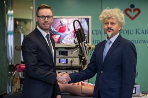 Podpisano umowę ws. komercjalizacji robota Robin Heart