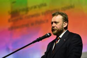 Płock: Łukasz Szumowski na trasie kampanii wyborczej