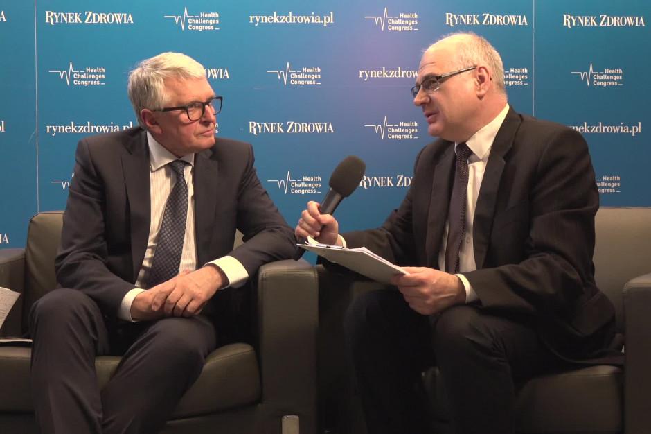 Prof. Andrzej Bochenek: młodzi lekarze nie marzą dziś o kardiochirurgii